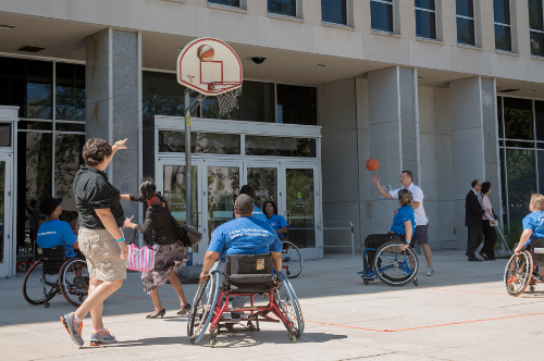 Department of Education Americans with Disabilities Act Wheel Chair Basketball